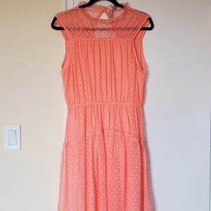 NWT Asos Coral Lace Dress